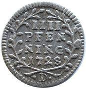 4 Pfenning - Adolph of Dalberg – reverse