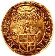 ⅛ Thaler - Bernhard Gustav of Baden-Durlach – obverse