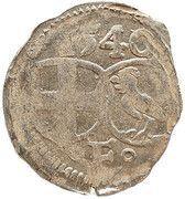 1 Heller - Johann III of Henneberg – obverse
