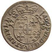 1 Groschen - Adolph of Dalberg – obverse