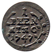 1 Pfenning - Amand of Buseck – reverse