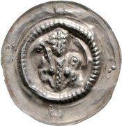 1 Brakteat - Heinrich V. – obverse