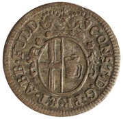 3 Pfennig - Konstantin of Buttlar – obverse