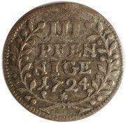 3 Pfennig - Konstantin of Buttlar – reverse