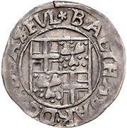 3 Kreuzer - Balthasar of Dernbach – obverse
