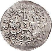 3 Kreuzer - Balthasar von Dernbach – reverse