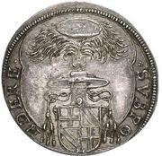1 Thaler - Bernhard Gustav of Baden-Durlach – obverse