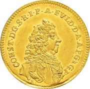 1 Ducat - Konstantin of Buttlar – obverse