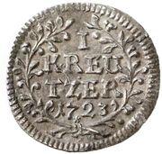 1 Kreuzer - Konstantin von Buttlar – reverse