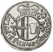 4 Pfennig - Konstantin von Buttlar – obverse