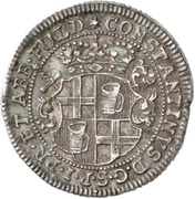 ½ Kopfstück - Konstantin of Buttlar – obverse