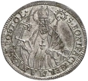 1 Groschen - Konstantin von Buttlar – reverse