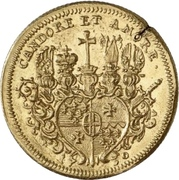 1 Ducat - Adolph von Dalberg – reverse