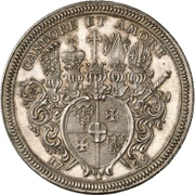 1 Thaler - Adolph of Dalberg – reverse