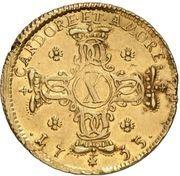 1 Carolin - Adolph von Dalberg – reverse