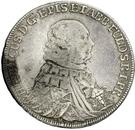 ½ Thaler - Heinrich VIII of Bibra (Konventionshalbtaler) – obverse