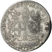 ½ Thaler - Heinrich VIII of Bibra (Konventionshalbtaler) – reverse