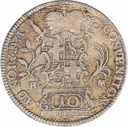 10 Kreuzer - Heinrich VIII of Bibra – reverse