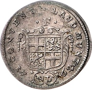 1 Groschen - Heinrich VIII of Bibra – obverse