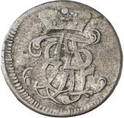 6 Pfennig - Adalbert II of Walderdorff – obverse