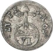 6 Pfennig - Adalbert II of Walderdorff – reverse