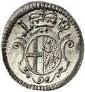 1 Kreuzer - Heinrich VIII of Bibra – obverse