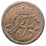 1 Pfenning - Heinrich VIII of Bibra – obverse