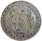 20 Kreuzer - Heinrich VIII of Bibra – reverse