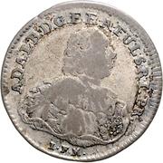 20 Kreuzer - Adalbert II. of Walderdorff – obverse