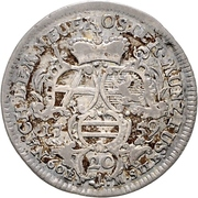 20 Kreuzer - Adalbert II. of Walderdorff – reverse