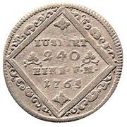 5 Kreuzer - Heinrich VIII of Bibra – reverse