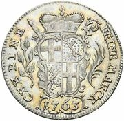 10 Kreuzer - Heinrich VIII. of Bibra – reverse
