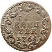 1 Kreuzer - Heinrich VIII of Bibra – reverse