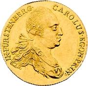1 Ducat - Karl Egon I. (Celtic-gold ducat) – obverse
