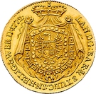 1 Ducat - Karl Egon I. (Celtic-gold ducat) – reverse