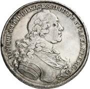1 Thaler - Joseph Wilhelm Ernst (St. Sophia Ausbeute) – obverse