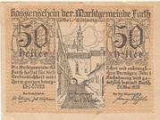 50 Heller (Furth) -  obverse