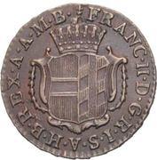 ¼ Kreutzer - Franz II – obverse