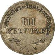 3 Kreutzer - Joseph II / Leopold II – reverse