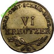 6 Kreutzer - Franz II – reverse
