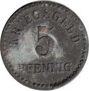 5 Pfennig - Furtwangen – reverse