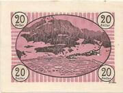20 Heller (Fuschl am See) – reverse