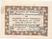 50 Heller (Fuschl am See) – obverse
