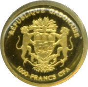 1000 Francs (Gold Bullion Coinage) – obverse