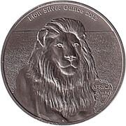 1000 Francs (Bullion Coinage - Lion) – reverse
