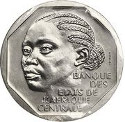 500 Francs (Trial Strike) – obverse