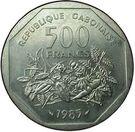 500 Francs (Trial Strike) – reverse
