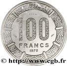100 Francs (Trial Strike) – reverse