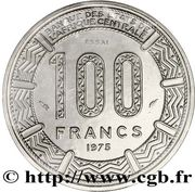 100 Francs (Trial Strike) – reverse