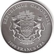 1000 Francs (Bullion Coinage - Elephan) – obverse